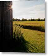 Barn Highlight Metal Print