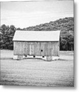 Barn In Meadow Metal Print