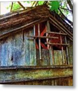 Barn In Summer Colors Metal Print