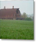 Barn In Summer Metal Print