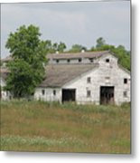 Barn In The Field 948 Metal Print