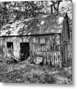 Barn In The Ozarks B Metal Print