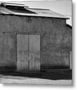 Barn On Dairy Farm Metal Print