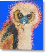 Barn Owl Painting Metal Print