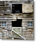Barn Side Metal Print