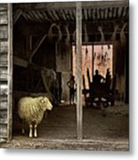Barn Stock Metal Print