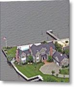 Barnegat Bay House Bay Head New Jersey Metal Print