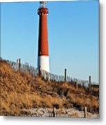 Barnegat Lighthouse Nj Metal Print