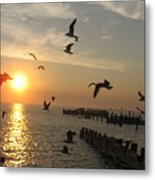 Barneget Sunset Metal Print