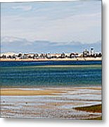 Barnstable Harbor Panorama Metal Print