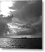 Barnstable Harbor Sky Metal Print