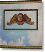 Baroque Angel Metal Print
