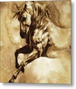 Baroque Horse Series IIi-i Metal Print