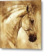 Baroque Horse Series IIi-iii Metal Print