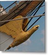 Barque Eagle Masthead Metal Print
