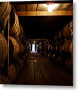 Barrel Alley Metal Print