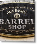 Barrel Shop Metal Print