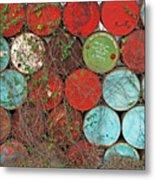 Barrels - Play Of Colors Metal Print