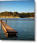 Barren River Lake Dock Metal Print