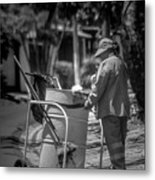 Barrendera Antiguo Cuscatlan Metal Print