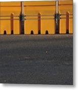 Barriers Of Yellow Metal Print