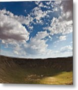 Barringer Meteor Crater #4 Metal Print