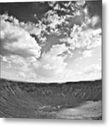 Barringer Meteor Crater Metal Print