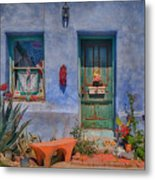 Barrio Viejo With Character Metal Print