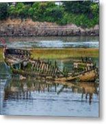 Barry Island Wrecks 2 Metal Print