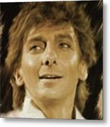 Barry Manilow, Music Legend Metal Print