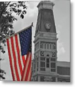 Bartholomew County Court House Metal Print