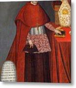 Bartholomew Fabro Y Palacios - Bishop Of Huamanga  Metal Print