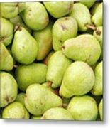 Bartlett Pears Metal Print by John Trax