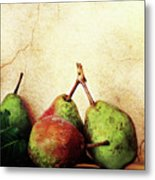 Bartlett Pears Metal Print by Stephanie Frey