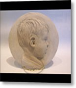Bas Relief Of Malek Metal Print