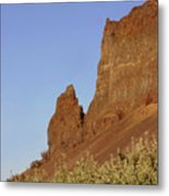 Basalt Cliffs Metal Print