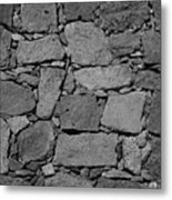 Basalt Wall Metal Print