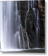 Base Of Porcupine Falls Metal Print