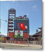 Baseball In Philadelphia - Citizens Bank Park Metal Print