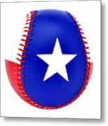 Baseball Star Metal Print
