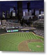 Baseball Target Field  Metal Print by Paul Plaine