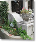 Basement Entry Garden Metal Print