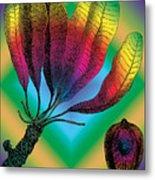 Basia Plant Metal Print