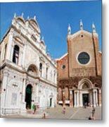 Basilica Dei Santo Giovanni E Paolo Metal Print