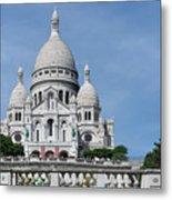 Basilica Du Sacre-coeur De Montmartre Metal Print