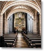 Basilica Of San Isidoro De Leon - Interior Metal Print