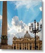 Basilica Papale Di San Pietro Metal Print