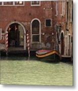 Basin In Venice Metal Print