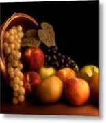 Basket Of Fruit Metal Print by Tom Mc Nemar