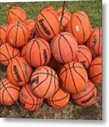 Basketbal Anyone Metal Print